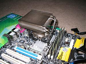 Dothan CPU with XP-90 Cooler