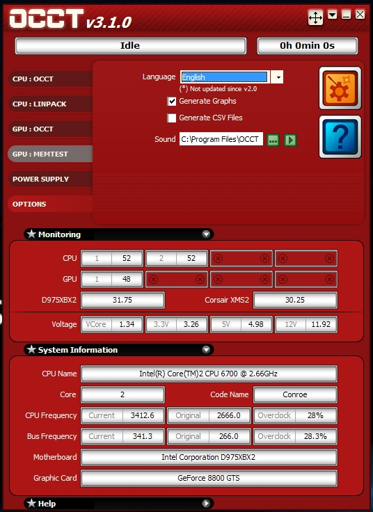 OC'ing the Q6600 on the Intel D975XBX2 board - Page 4 - AOA Forums