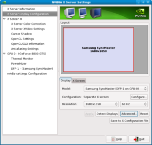 I need help installing Nvidia driver in Fedora 11 64 bit please-screenshot-nvidia-x-server-settings-1.png