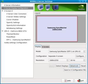 I need help installing Nvidia driver in Fedora 11 64 bit please-screenshot-nvidia-x-server-settings-1.png
