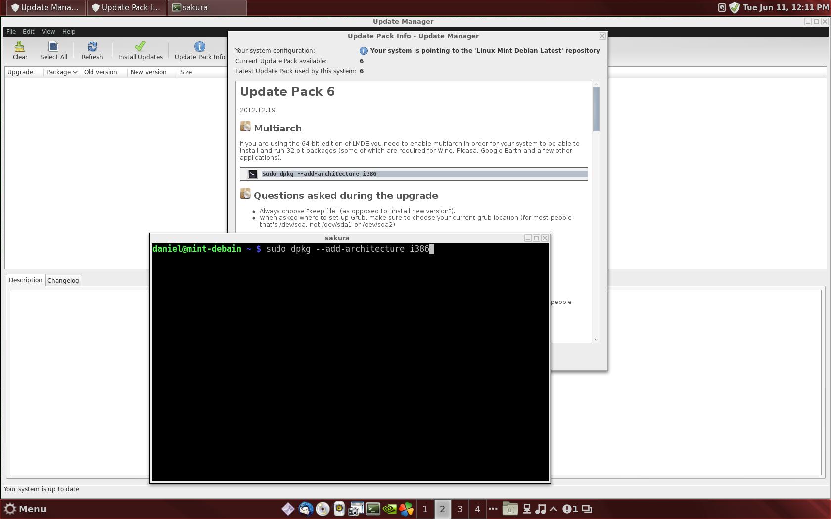 Need help installing 32bits OpenGL libraries in Mint Debain - AOA Forums