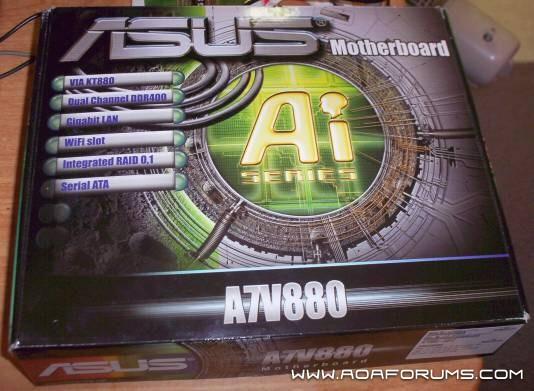 ASUS A7V880 socket A