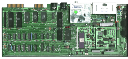 Commodore 64 motherboard
