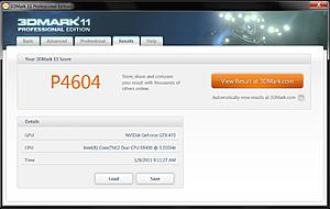 3DMark 11 Benches & Discussions-3dmark-11-4.0ghz-32-oc-p4604 P4604 [266.44].jpg Views:342 Size:225.1 KB ID:25480