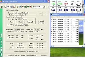 Try this BIOS for Corsair memory-216fsb.jpg