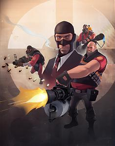 Team Fortress 2 from Valve-tf2_characterart.jpg