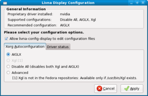 Hands-on: new Fedora release goes up to 11 but doesn't rock-screenshot-livna-display-configuration.png