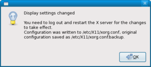 Hands-on: new Fedora release goes up to 11 but doesn't rock-screenshot-restart-xserver.png