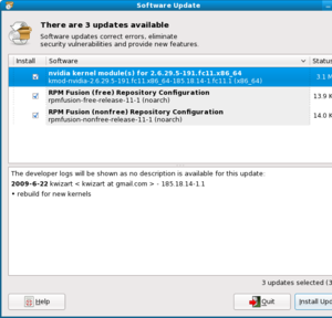 Hands-on: new Fedora release goes up to 11 but doesn't rock-screenshot-software-update.png
