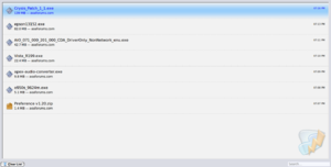Fedora 12 available in AOAFiles-screenshot-downloads.png