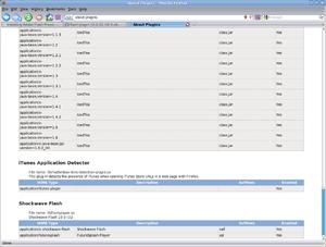 Installing Adobe Flash Player 10 on Fedora Linux 64-bit with Firefox 64-bit-screenshot-about-plugins-mozilla-firefox.png