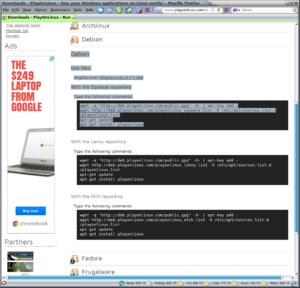 Need help installing 32bits OpenGL libraries in Mint Debain-screenshot-2013-06-13-14-23