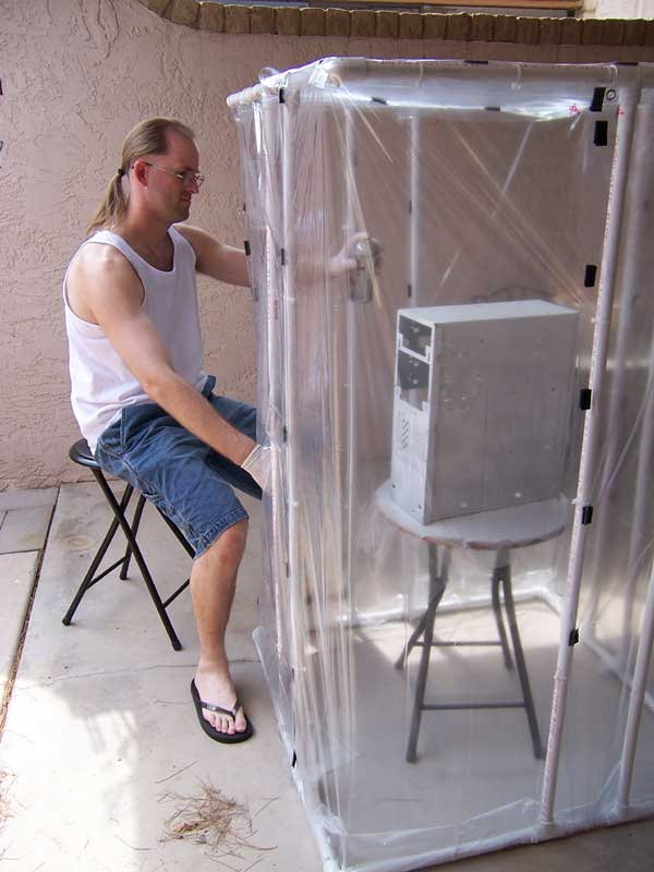 How-To: Homemade spray booth - Page 9