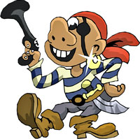 You're a pirate!