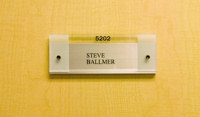 Steve Ballmer's office door