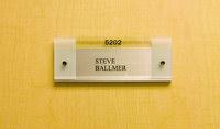 Steve Ballmer's office door
