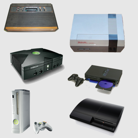 video game consoles - photo #3