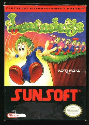 Lemmings for NES